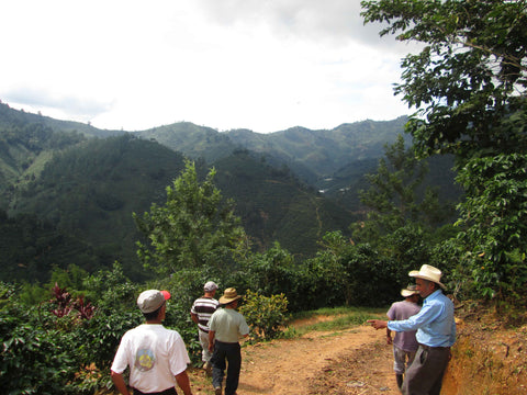 Farmers in San Antonio Huista