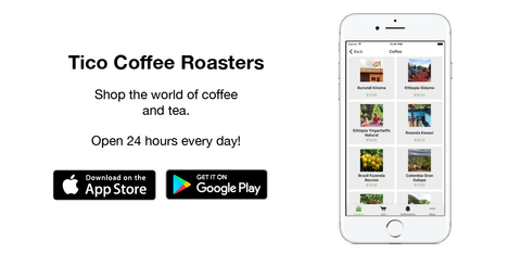 Tico Coffee Roasters Mobile App