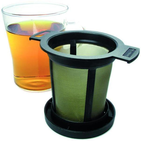 Lidded Tea Filter, stainless steel - Tico Coffee Roasters