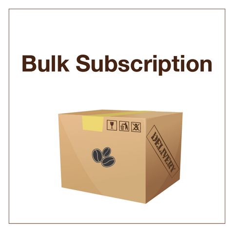 Bulk Coffee Subscription - Tico Coffee Roasters