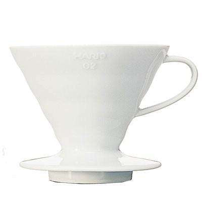 "Hario Coffee Dripper V60 02 Ceramic ""White"" - Tico Coffee Roasters"