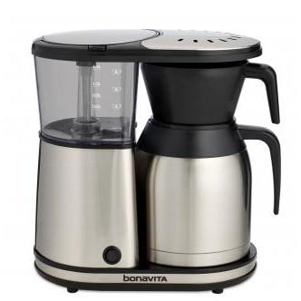 Bonavita 8-Cup Coffee Brewer with Stainless Steel Lined Thermal Carafe - Tico Coffee Roasters