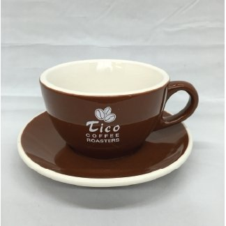 Tico Coffee Roasters Latte Cup - Set of 2 - Tico Coffee Roasters