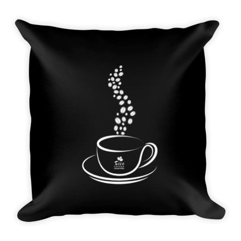 Tico Coffee Roasters Square Pillow - Tico Coffee Roasters