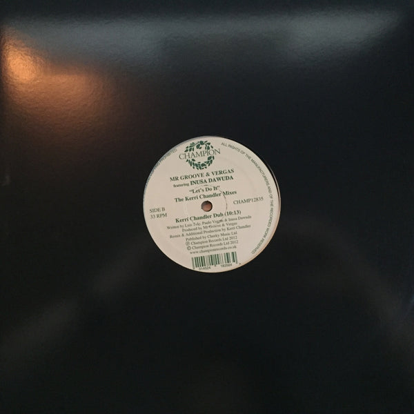 "Mr Groove & Vergas - Let's Do It (12"" Vinyl)"