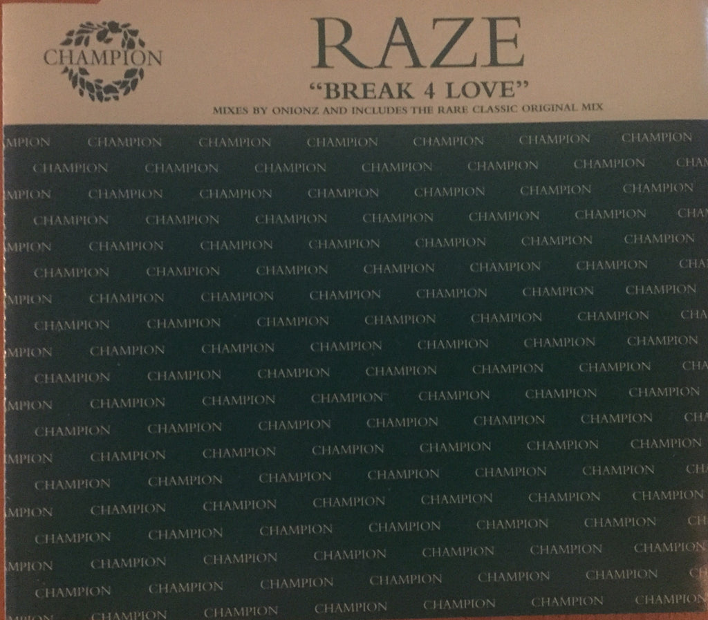 Raze - Break 4 Love (CD Single)