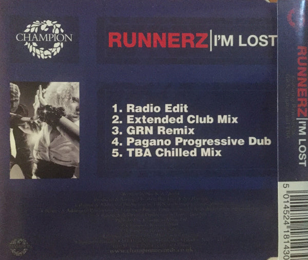 Runnerz - I'm Lost (CD Single)