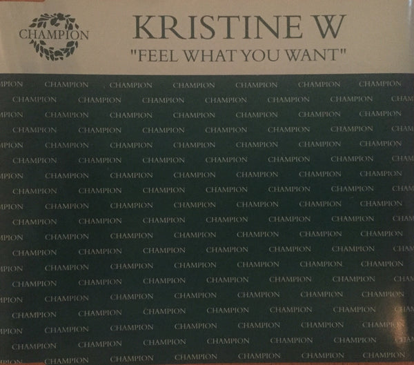Kristine W - Feel What You Want (CD Single)