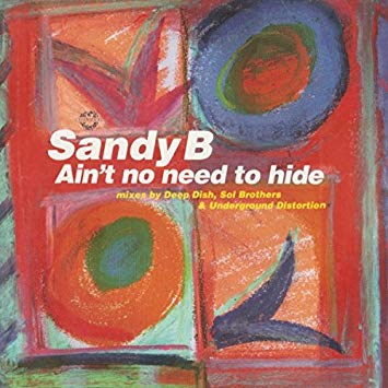 "Sandy B - Ain't No Need To Hide (12"" Vinyl)"
