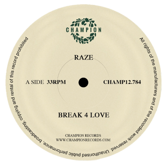 "Raze - Break 4 Love (12"" Vinyl)"