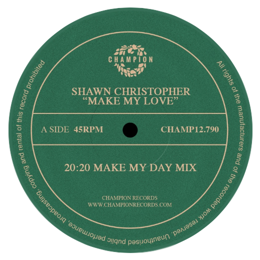 "Shawn Christopher - Make My Love (12"" Vinyl)"