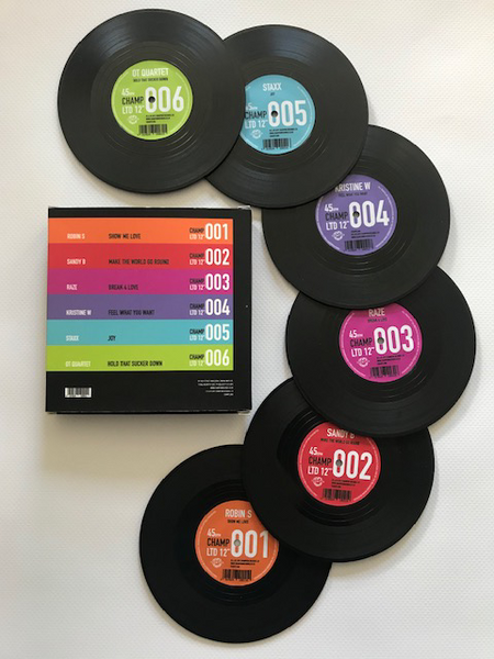 35th Anniversary Vinyl Coasters *LIMITED EDITION*