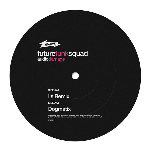 "Future Funk Squad - Audio Damage (12"" Vinyl)"