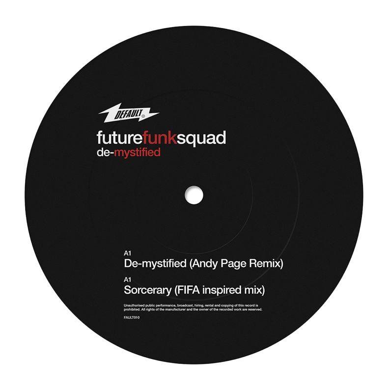 "Future Funk Squad - De-Mystify (12"" Vinyl + CD)"
