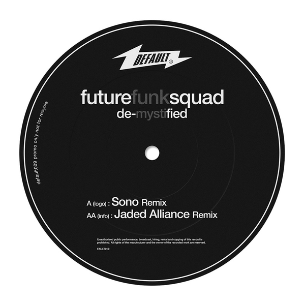 "Future Funk Squad - De-Mystified (12"" Vinyl)"