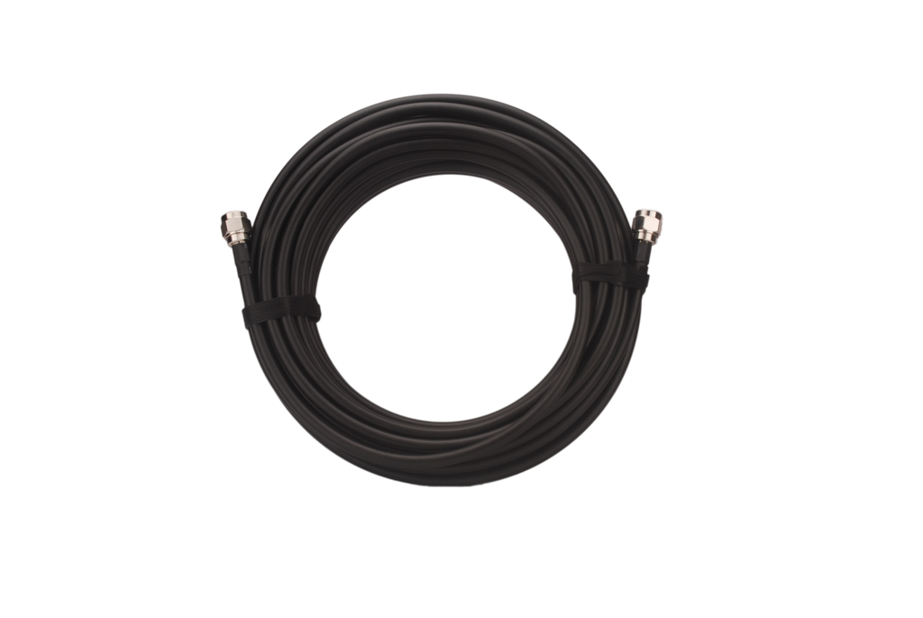 SolidRF Coaxial Cable (10 Feet) with N-Male Connectors LMR400