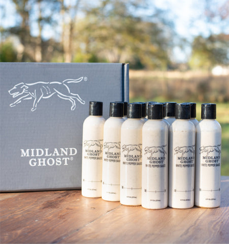 12 Bottles- Midland Ghost White Sauce (1 case)