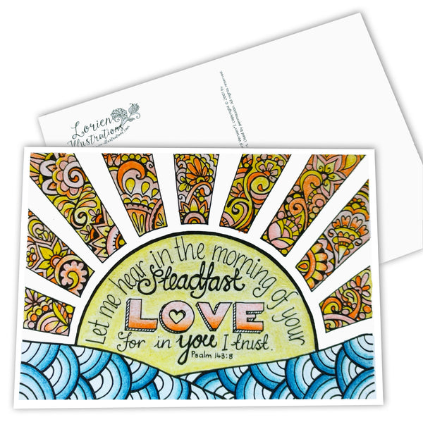Postcards - Sunrise - 5 pack