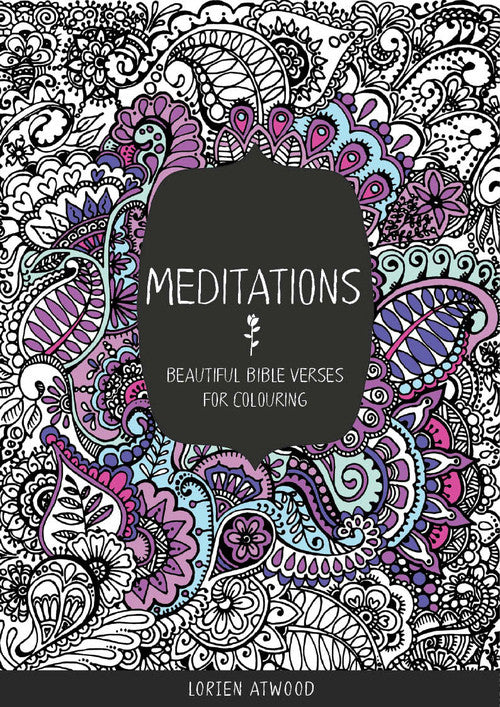 Meditations: Beautiful Bible Verses for Coloring