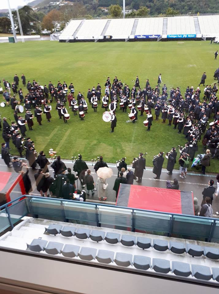 New Zealand Pipe Band Championships Results