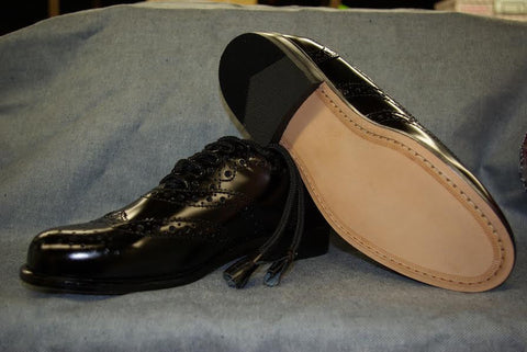 Ghillie Brogue Leather Sole