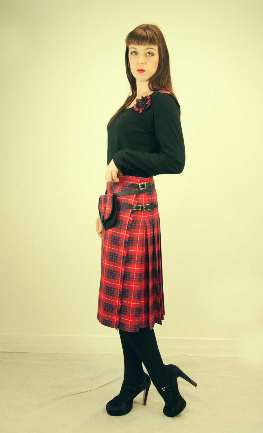 Kilted Skirt -