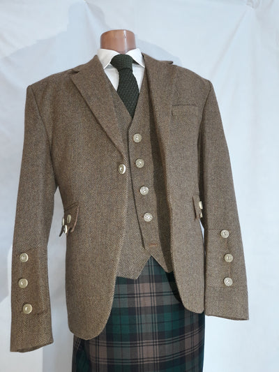 Braemar Tweed Jacket & Vest - Clearance Jacket (7)