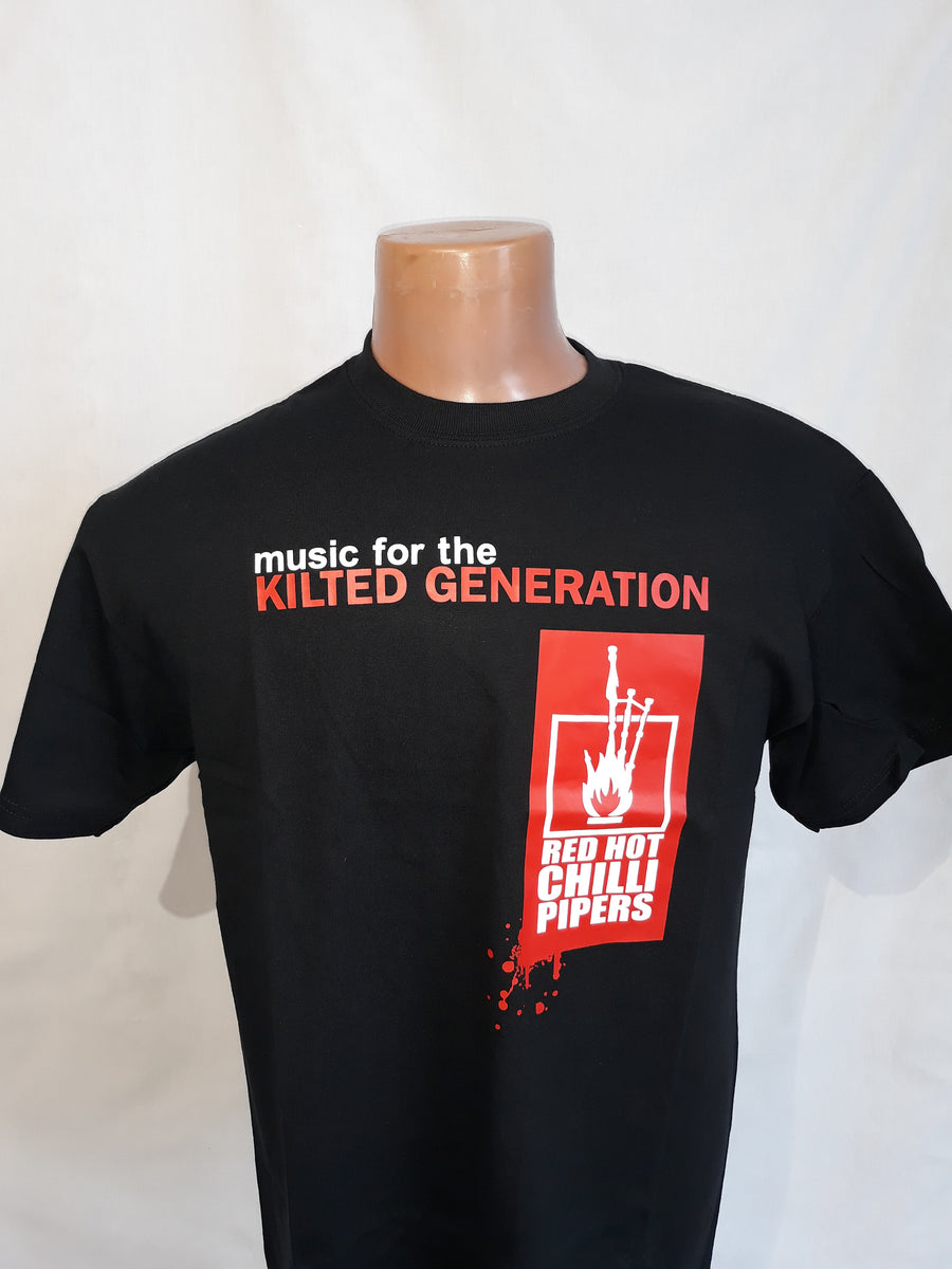 "Red Hot Chili Pipers ""Kilted Generation"" T-Shirt"