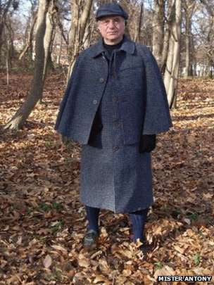 Inverness Capes in Harris Tweed -