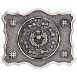 Dress Thistle Buckle - Antique