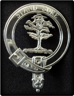 Clan Badges Sterling Silver -