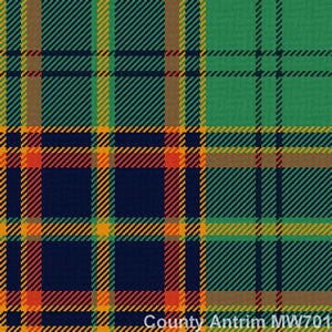 Irish County Tartans -  - 1