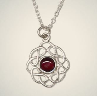 Birthstone Pendant (Jan) -