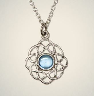Birthstone Pendant (Mar) -