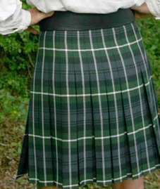 The Box Pleated Kilt -