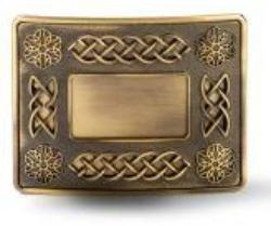 Brass Antique Celtic on Brass Antique