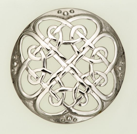 Plaid Brooch Cathedral -