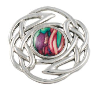 Celtic Knot Brooch -