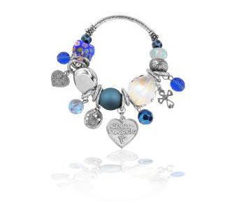 Celtic Love Bracelet (blue) -