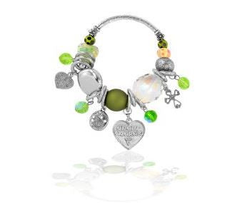 Celtic Love Bracelet (green) -