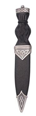 Celtic Matt Sgian Dubh With Ball Top