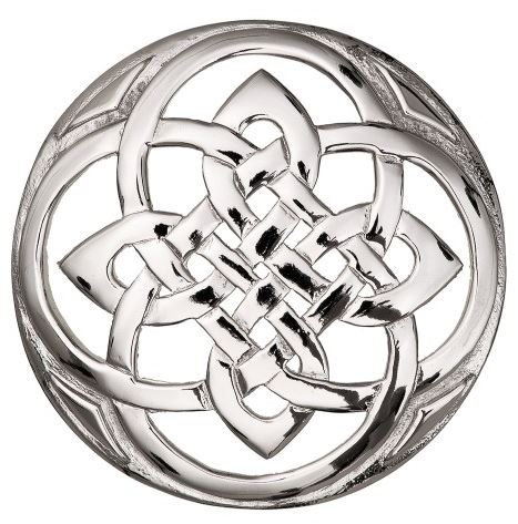 Plaid Brooch Celtic