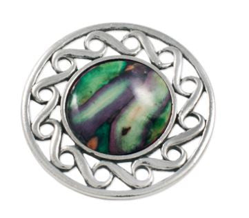 Celtic Swirl Brooch -