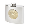 Celtic Gold Kidney Flask (2oz or 6oz)