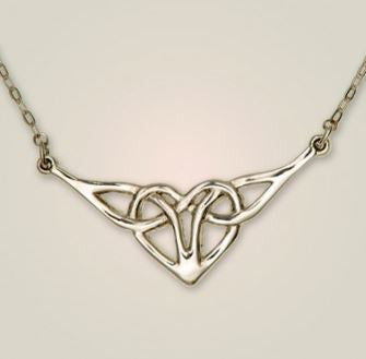 Celtic Heart Necklet -