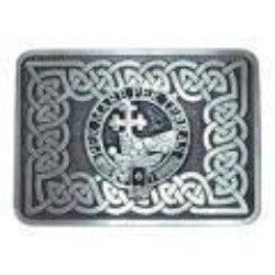 Clan Crested Belt Buckle (Antiqued)