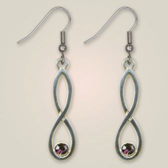 Colonsay Knot Earrings -