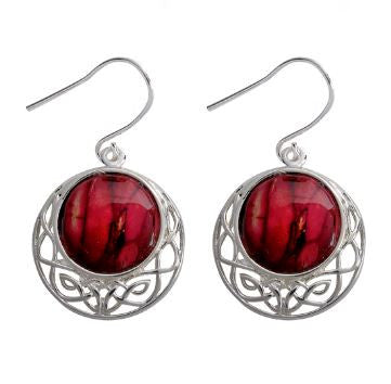 Cormag Celtic Earrings -