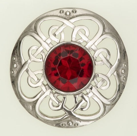Plaid Brooch Culloden -