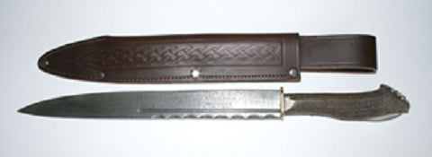 Dirk Hunting Damascus Steel -